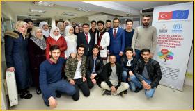 YTB Delegation Visit Syrian Students