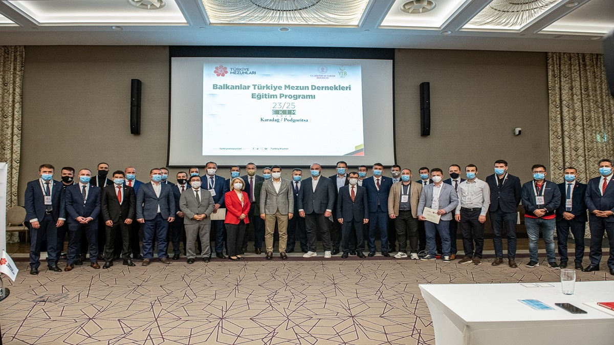 YTB Trains Turkish University Alumni in The Balkans