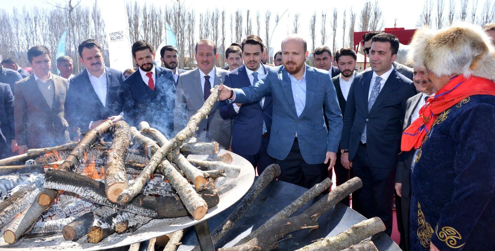 Türkiye Söyleşilerine Dünya Etnospor Konfederasyonu Başkanı Bilal Erdoğan, Konuk Oldu…