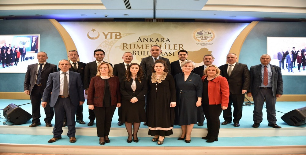 Rumelia Meeting held at the Capital of Turkey with the support of YTB