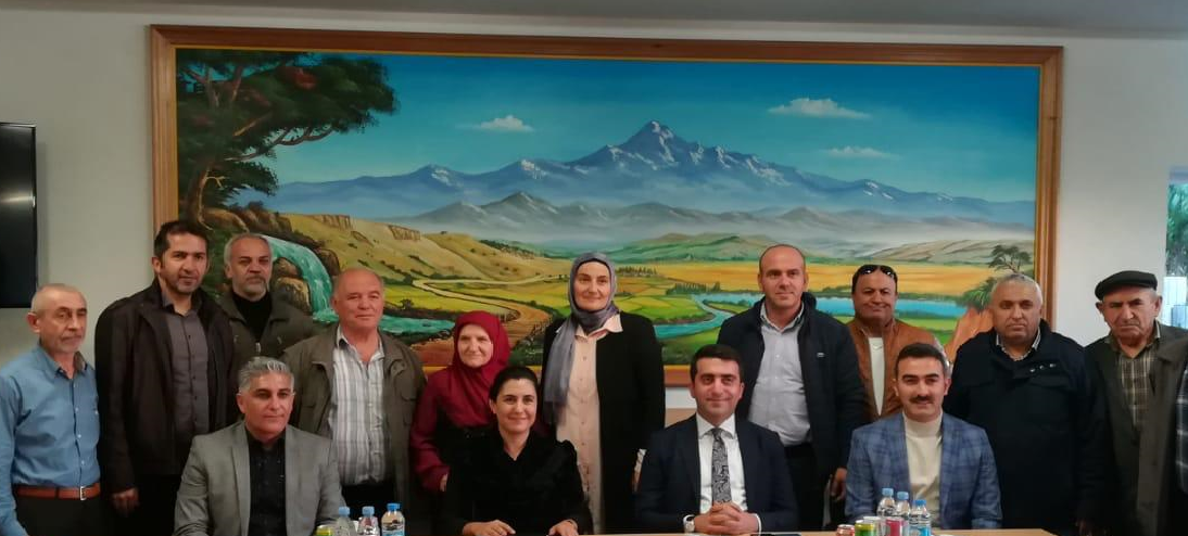 Visit to the Association Attacked by Terrorist Organization Sympathizers in Germany