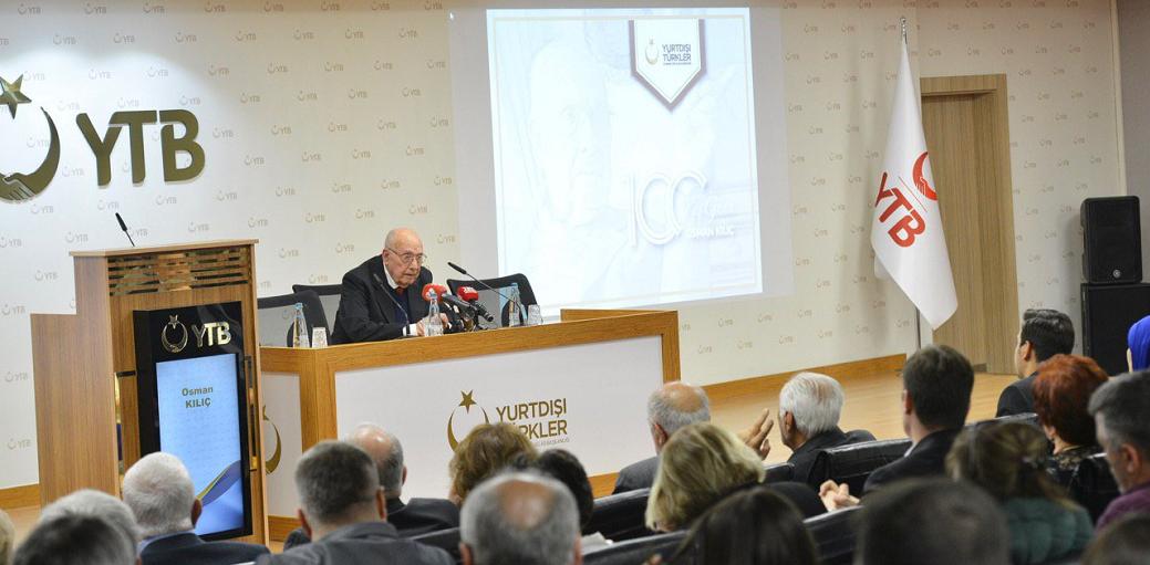 In devotion to Osman Kılıç, the leader of Bulgaria Turks, program organized by YTB