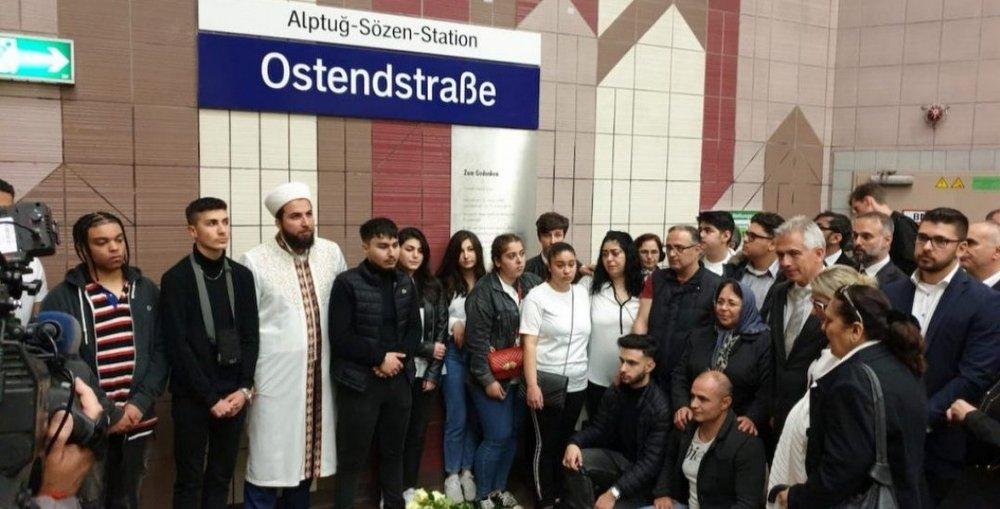 Kahraman Gencimizin Adı Frankfurt'ta Metro İstasyonuna Verildi