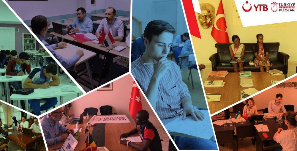 86 Ülkede Öğrencilerin 'TÜRKİYE BURSLARI' Heyecanı Dünyada 100 Noktada 10 Bin Öğrenci Türkiye'de Eğitim İçin Mülakatta