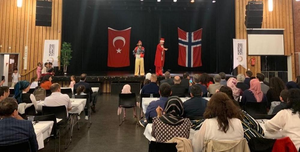 YTB Norveç Ve İskeçe'de İftar Sofraları Kurdu