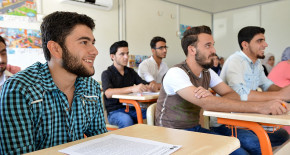 With the Projects of YTB, Young Syrians situated i...