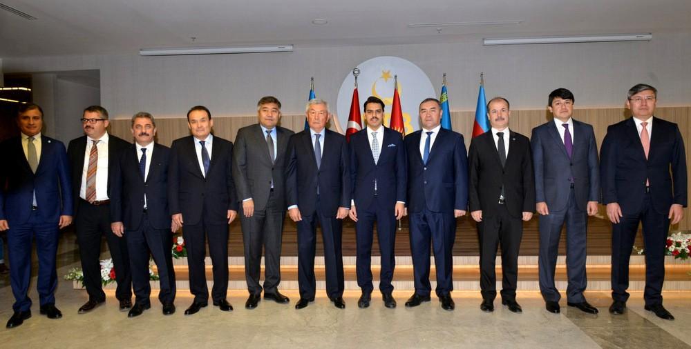 Türkiye, Azerbaycan Ve Kazakistan Diaspora Alanında İşbirliğine Gitti