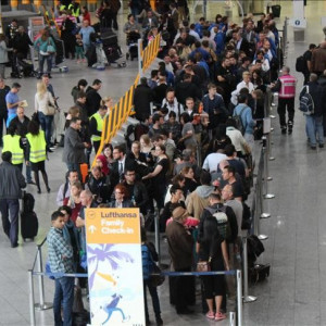 YPG/PKK attack Turkish passengers at German airpor...